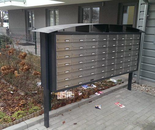 skrzynki pocztowe wolnostojące