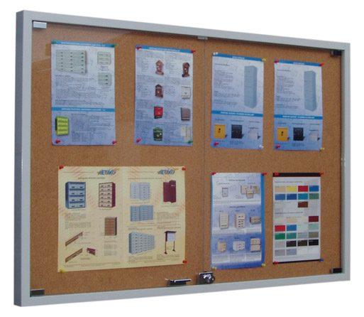 gablota-stalowa-drzwi-otwierane-podwojne